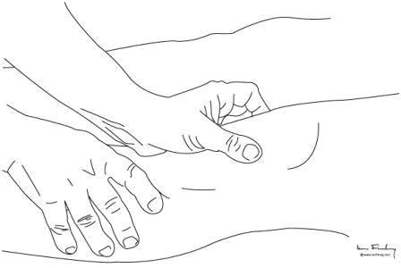 Examination-patello-femoral joint